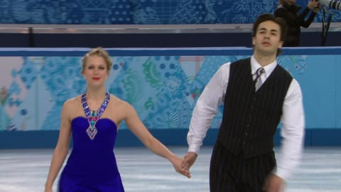 K. Weaver / A. Poje (CAN) | Ice Dance Figure Skating - Sochi 2014 Replays