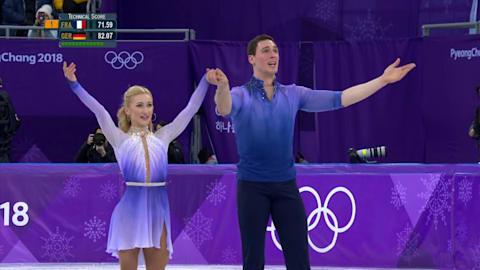 Savchenko and Massot (GER) - Gold Medal   Pairs Free Skating