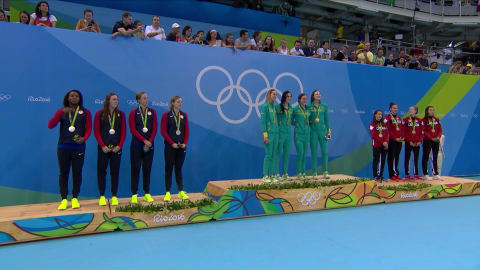 Australia women's 4x100m Freestyle Relay team break world record