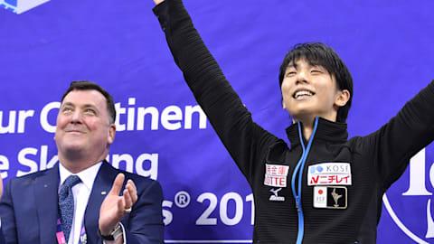 Un lesionado Yuzuru Hanyu pretende competir esta temporada