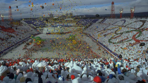 Calgary 1988 - Ceremonia inaugural