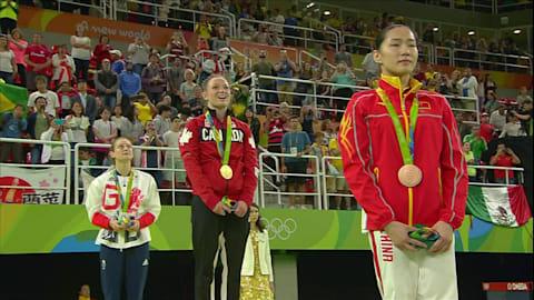 体操競技:女子トランポリン | リオ2016リプレイ
