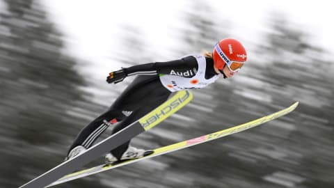 Women's HS90 Individual - Day 1   FIS World Cup - Premanon