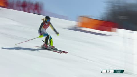 Women's Slalom, Run 2 (Condensed) - Alpine Skiing | PyeongChang 2018 Replays