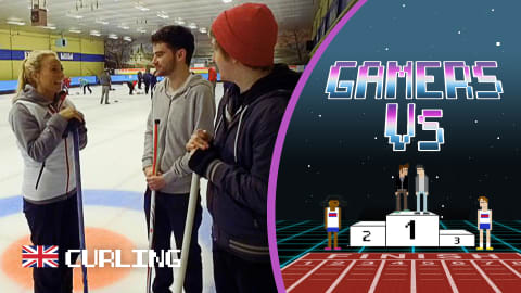Team GB curling medallist breaks the ice with Gamers Rossboom & Marley