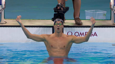 Phelps reprend l'or sur 200 m papillon