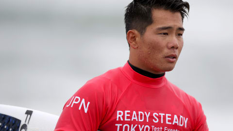 生まれ育った場所が東京2020大会の開催地 サーフィン大原洋人選手が目指すこと