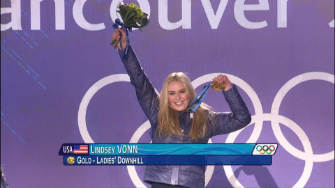 Vonn creates history for America in Canada