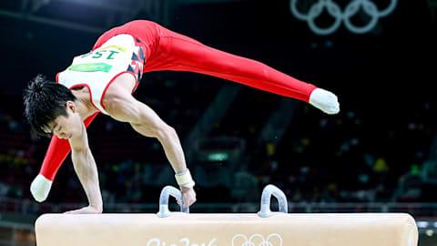 Artistic gymnastics: