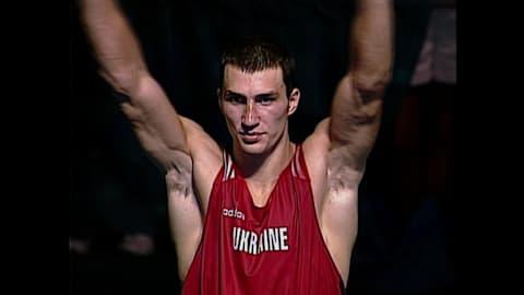 Победа Владимира Кличко в олимпийском финале