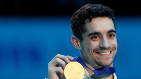 Golden goodbye for Javier Fernandez at European Championships