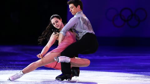 Nuevo récord mundial para la pareja canadiense de danza sobre hielo