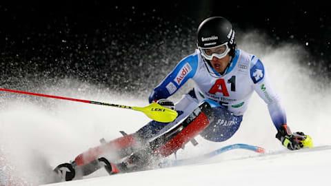 Men's Slalom - Run 1 | FIS World Championships - Åre