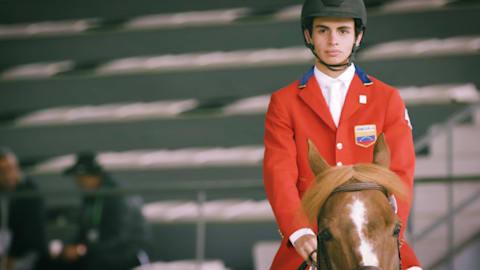 Ein unerwartetes Geschenk für venezolanischen Reiter