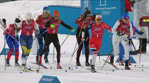 Эстафета, женщины - лыжные гонки | Лучшее в Пхенчхане-2018