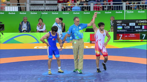 اختيور نافروزوف (أوزبكستان) يهزم آدم باتيروف (البحرين): 7-7
