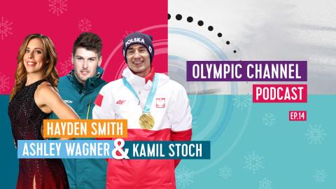 LISTEN: Olympic Channel Podcast [Ep14] with Kamil Stoch, Ashley Wagner and Hayden Smith