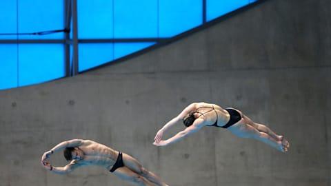 Mixed 3m Sync Springboard Final | Diving - FINA World Championships -Gwangju