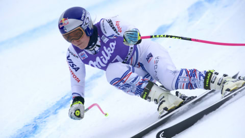 Lindsey Vonn injury return: American set for comeback race in Italy