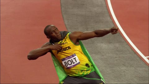 Usain Bolt at 17