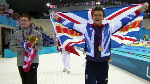 Tom Daley at age 14