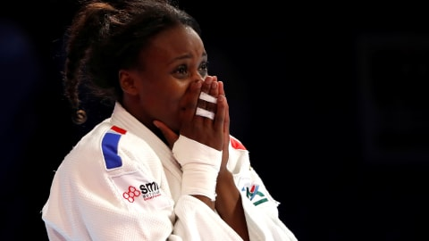 Madeleine Malonga claims third consecutive gold medal for France at judo world championships
