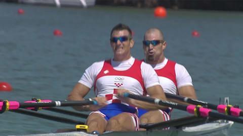 Irmãos croatas conquistam o ouro no double-skiff masculino