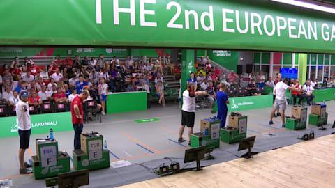 Herren 25m Schnellfeuerpistole Finale | Schießen -Europaspiele Spiele -Minsk