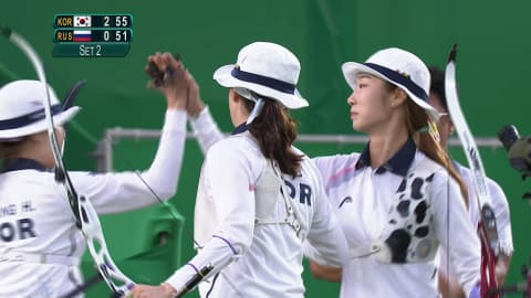 Unrivalled Republic of Korea win eighth Women's Team Archery gold