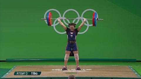 La Srisurat realizza il nuovo record olimpico nella categoria 58 kg
