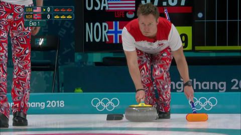 USA x NOR (Fase Preliminar) - Curling (M) | Replays de PyeongChang 2018