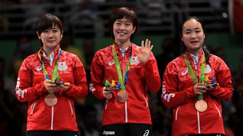 中国の高くて厚い壁に史上最も肉薄している卓球日本女子