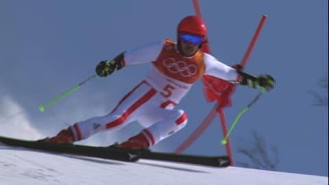 Herren Riesenslalom - Ski Alpin | PyeongChang 2018 Highlights