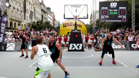 FIBA 3X3 Basketball Magazines 2016 - Prague