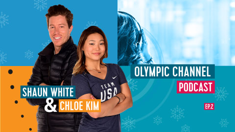 Olympic Channel Podcast con Shaun White e Chloe Kim