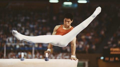 1984年洛杉矶奥运会 - 李宁斩获六块体操奖牌