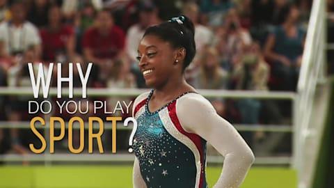 スポーツをする理由