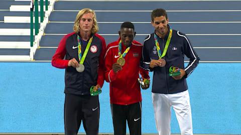 إعادة ريو: ذهبية سباق ثلاثة آلاف متر موانع للرجال