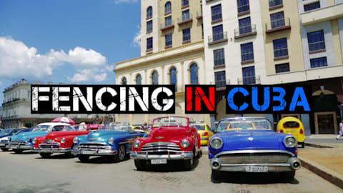 La scherma a Cuba