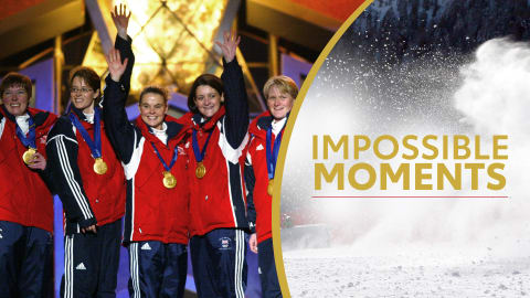 Team GB Women's Curling Sweeps Gold | Impossible Moments