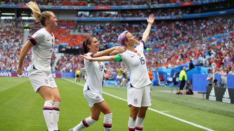 USA retain Women's World Cup in style
