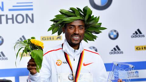Kenenisa Bekele narrowly misses marathon world record in Berlin