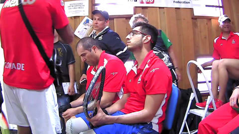 IRF 2018 Pan American Racquetball Championships Men's Doubles Semi Final