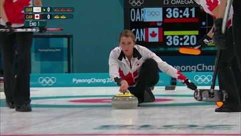 OAR v CAN (Round Robin) - Women's Curling | PyeongChang 2018 Replays