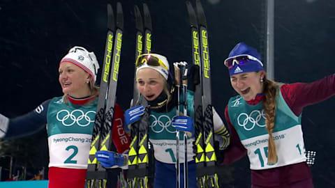 Спринт, женщины - лыжные гонки | Лучшее в Пхенчхане-2018