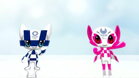 Mascotes da Tóquio 2020 são revelados