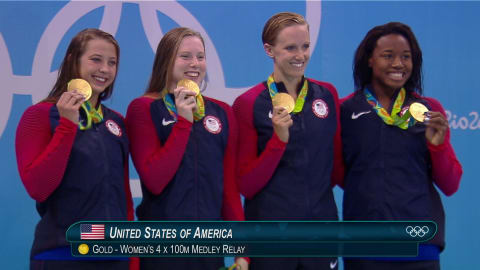 Replay do Rio: Final do Revezamento 4x100m Medley Feminino