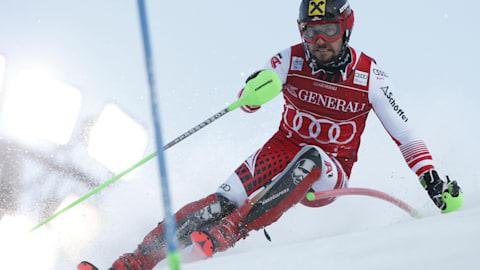 Marcel Hirscher snatches season opening slalom victory