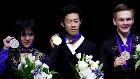 Nathan Chen, world champion