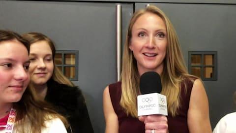Marathon-Rekordhalterin Radcliffe spricht nächster Generation Mut zu